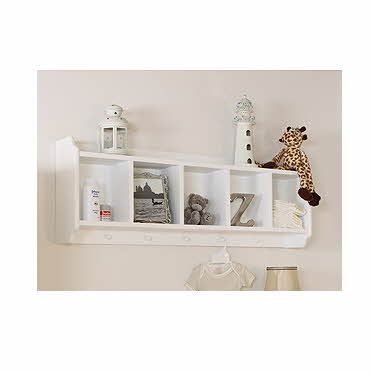 Bambino white nutkin childrens bedroom Shelf Unit | Shelves ...