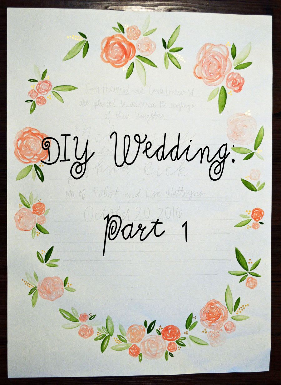 DIY fall wedding invitations on KinseyJane.com | Kinsey Jane Blog ...