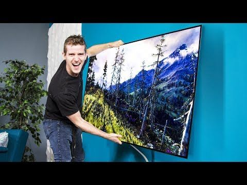 LG's OLED Wallpaper TV Can we use it as a WINDOW?? Pt.1