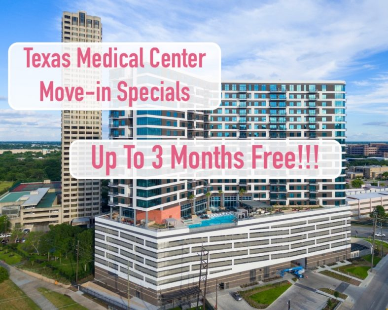 Houston Medical Center Apartments With Specials Up To 3 Months Free Texas Medical Center Medical Center Houston Apartment