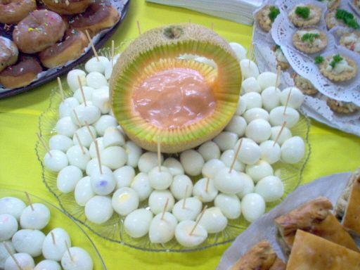 Huevos De Codorniz Con Salsa Rosada 24 Huevos Dips Para 30 O 40 Personas Acompañados Pasabocas Para Fiestas Infantiles Recetas Para Fiestas Comida Para Fiesta