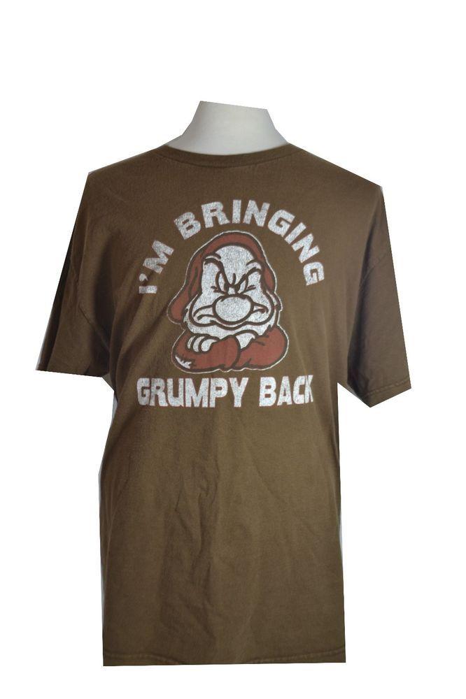 Disney I M Bringing Grumpy Back Adult X Large T Shirt Snowwhite
