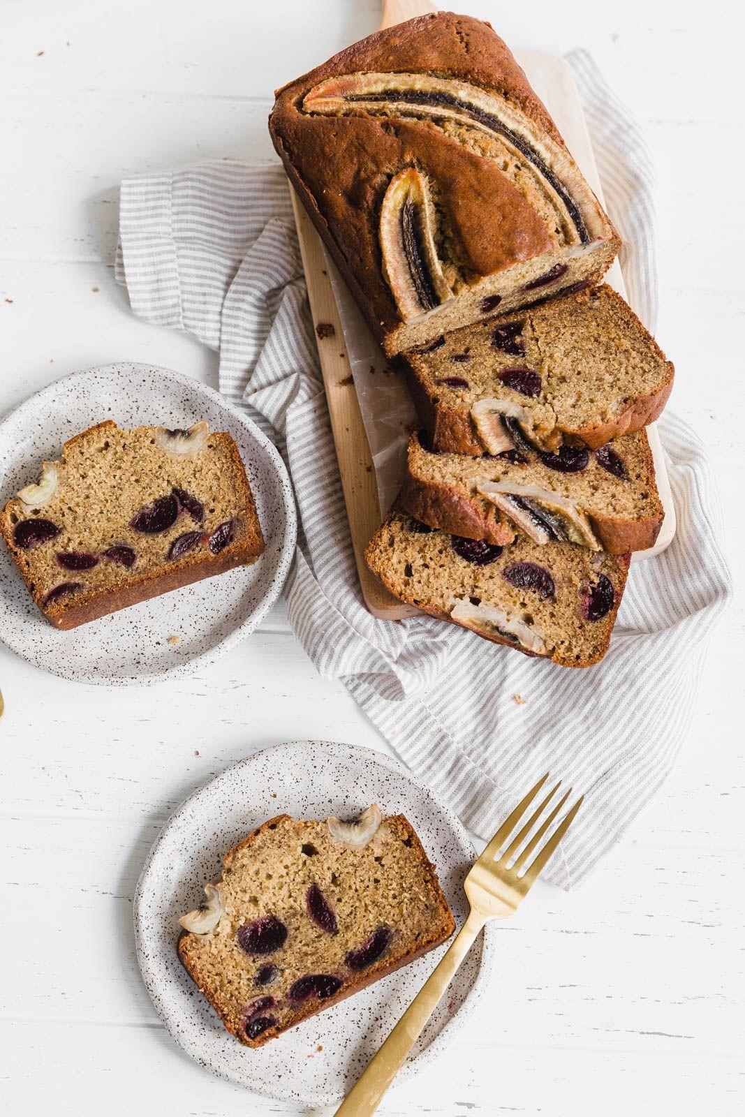 Bourbon Banana Cherry Bread - Broma Bakery