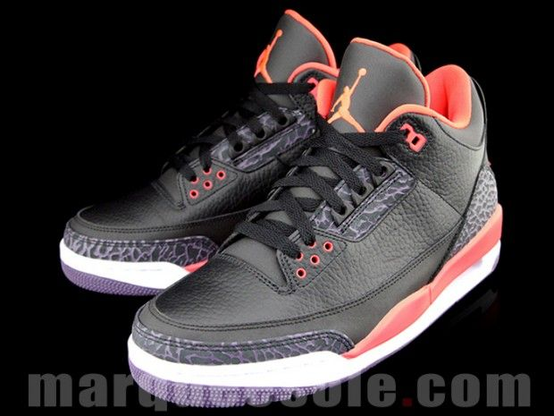 """f48c3fdc1171 Air Jordan 3 """"Bright Crimson"""" OMG! I HAVE THESE! If my BF had these it would  be awesome!"""