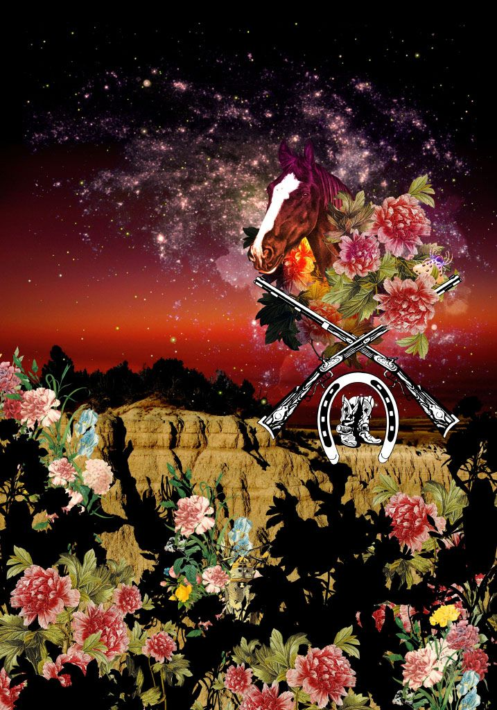 Digital Print for Cavalera Fashion Brand A/W 2011