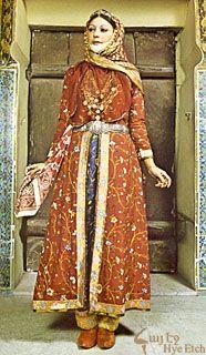 13e eeuwse arabische vrouw