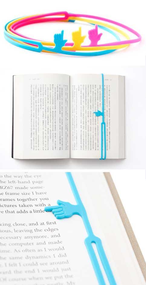 finger bookmark