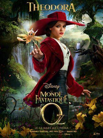 Le Monde Fantastique D'oz 2 : monde, fantastique, Disney, Posters