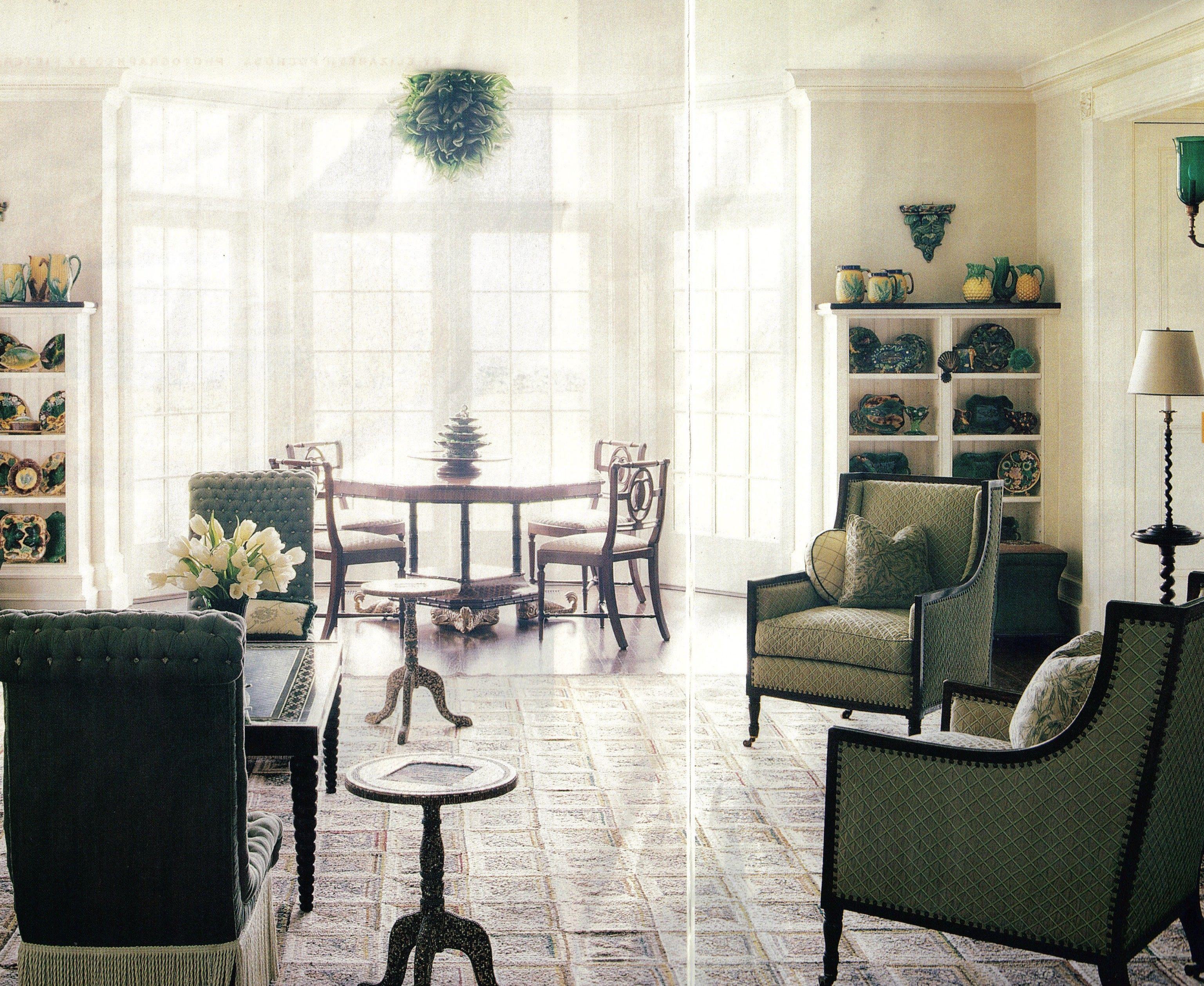 Long Island, interior designer Arthur Dunnam of Jed Johnson & Architects.  House and Garden