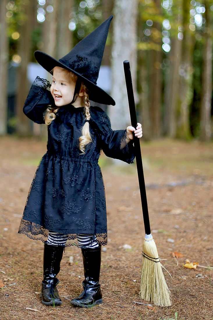 Free Witch Hat Pattern + DIY Witch Costume Costume