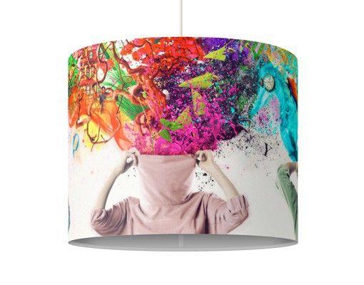 Hänge#lampe Brain Explosion #Flur #Gestaltung #Diele #Ideen #Dekoration #