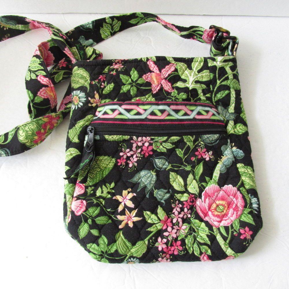 Vera Bradley BOTANICA Hipster Crossbody Messenger Bag Purse Tropical  Pattern  VeraBradley  MessengerCrossBody fca8449dafcf3
