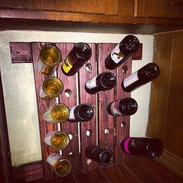 Frugalicious Marie: DIY Wine Rack!