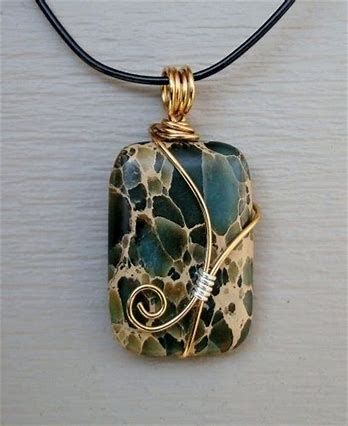 Photo of Image result for How to Wire Wrap Stones Jewelry