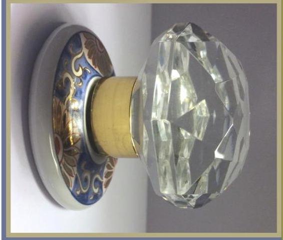 0552L MPB 01 Art Glass Cabinet Knobs
