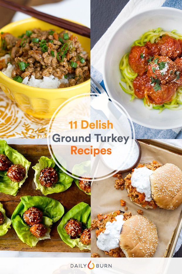 Photo of 11 Ground Turkey Recipes to Eat Cleaner, Stat