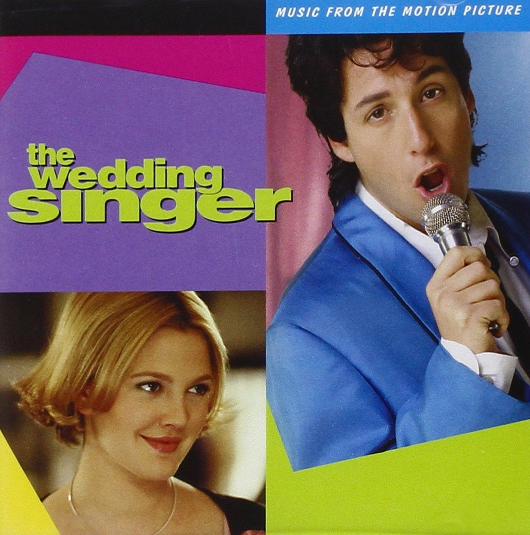The Wedding Singer Music From The Motion Picture The Wedding Singer Wedding Singer Movie Singer