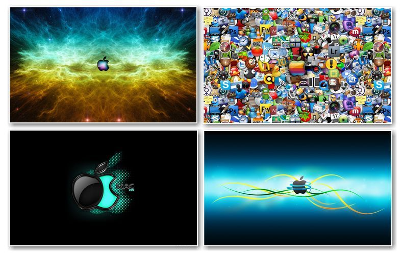 150 apple mac widescreen wallpapers