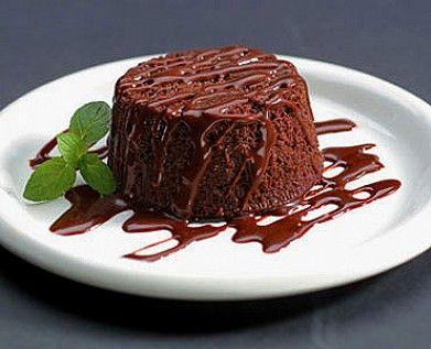 Рецепт - шоколадный пудинг