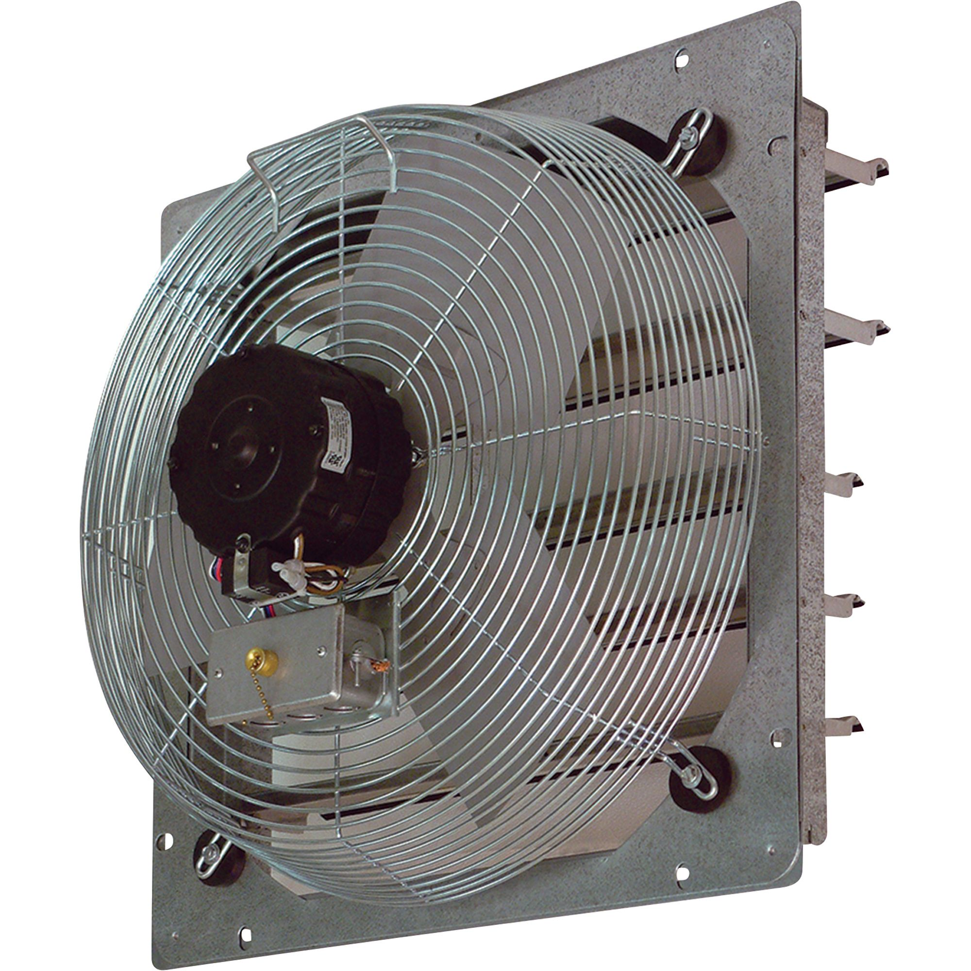 Tpi Shutter Mounted Direct Drive Exhaust Fan 12in Model Ce 12 Ds Wall Exhaust Fan Exhaust Fan Wall Fans