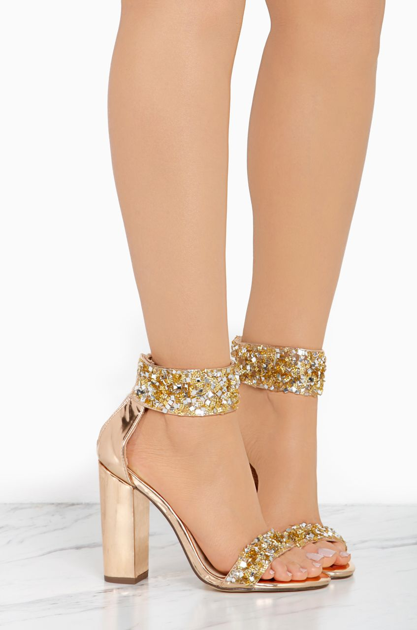 4840d3b25bf Love Stoned - Rose Gold White Toes