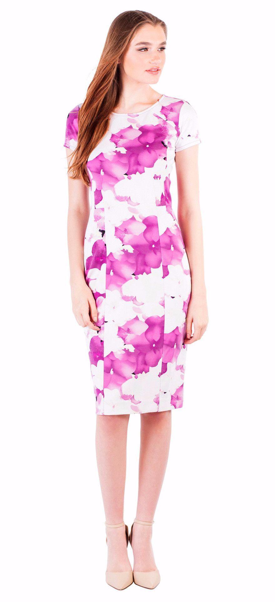 Purple Floral Dress | Products | Pinterest