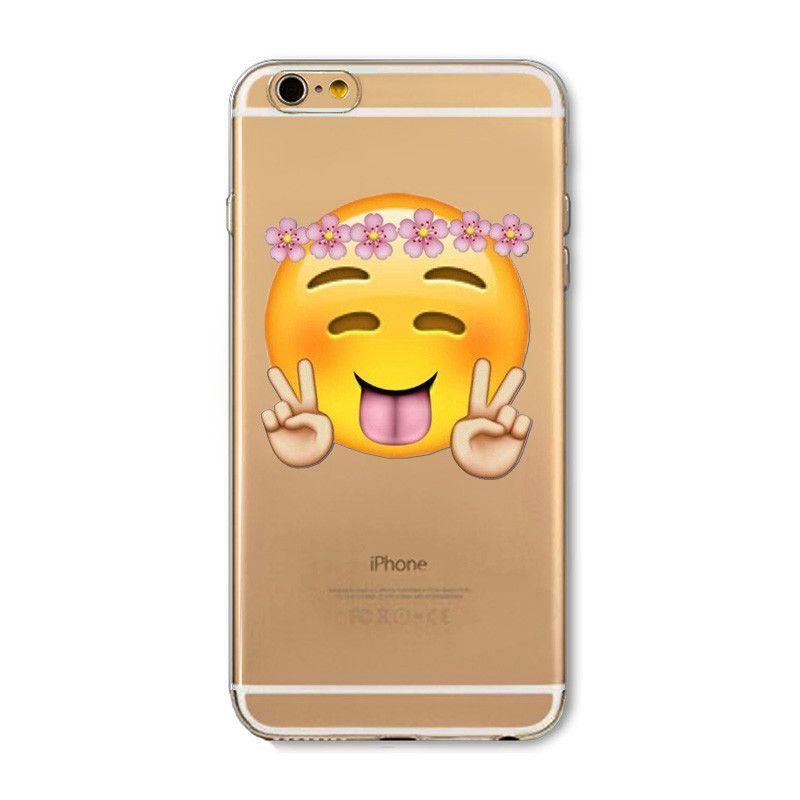 Emoji Iphone Cases Silicone Iphone Cases Iphone Transparent Case Animal Iphone Case