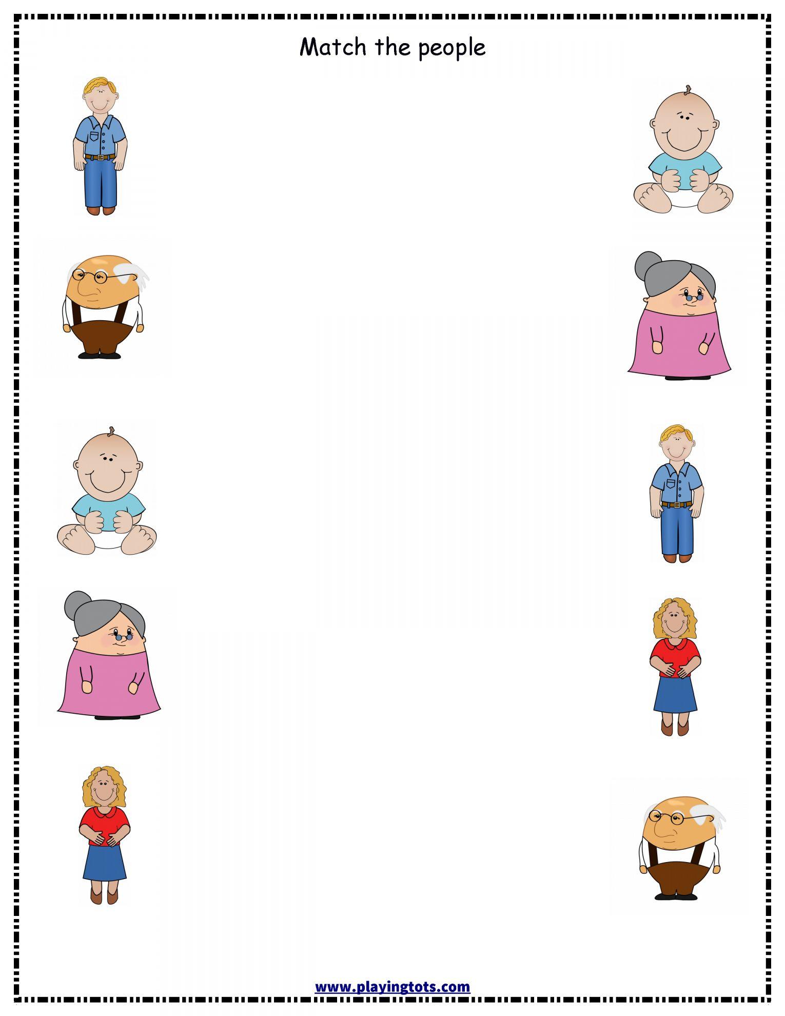 11 People Need Worksheet For Kindergarten