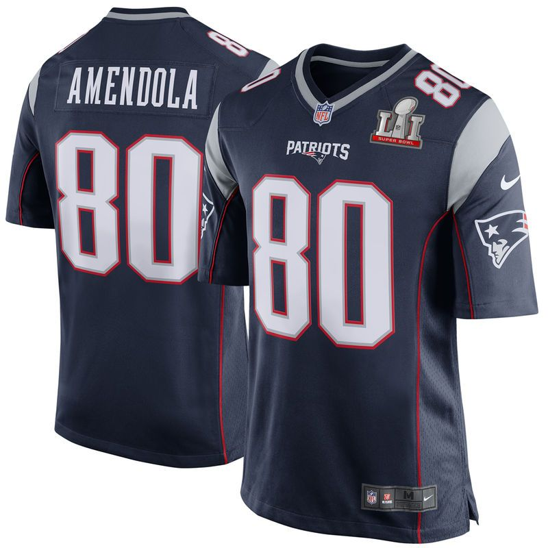 Danny Amendola New England Patriots Nike Youth Super Bowl LI Bound Game  Jersey - Navy