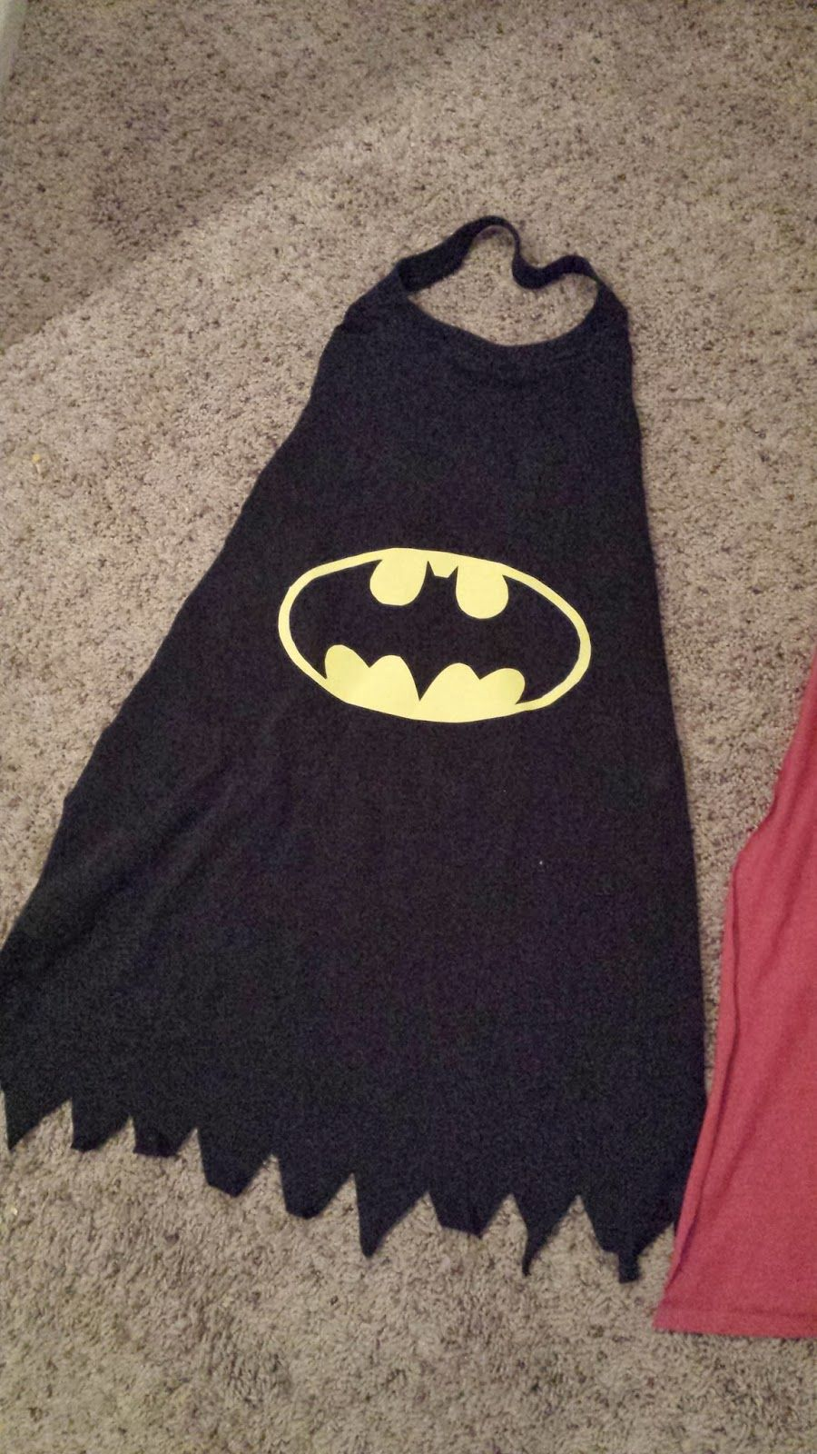 Diy No Sew Super Hero Capes Made From Recycled T Shirt Drawstring