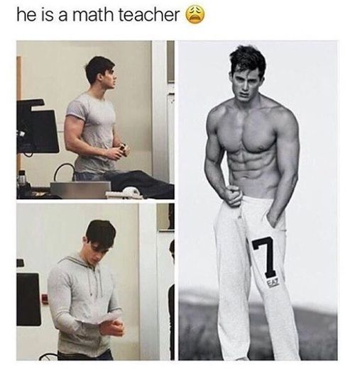 Image De Hot Boy And Math Cute Memes Funny Relatable Memes Cute Boys