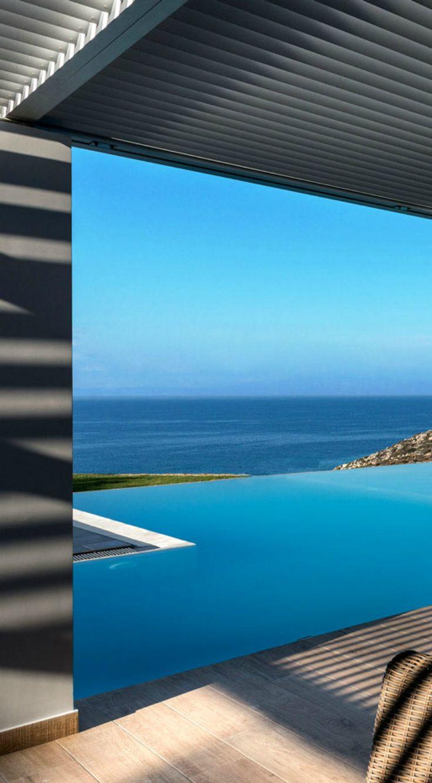 Big Blue Villa in Stavros, Chania, Crete