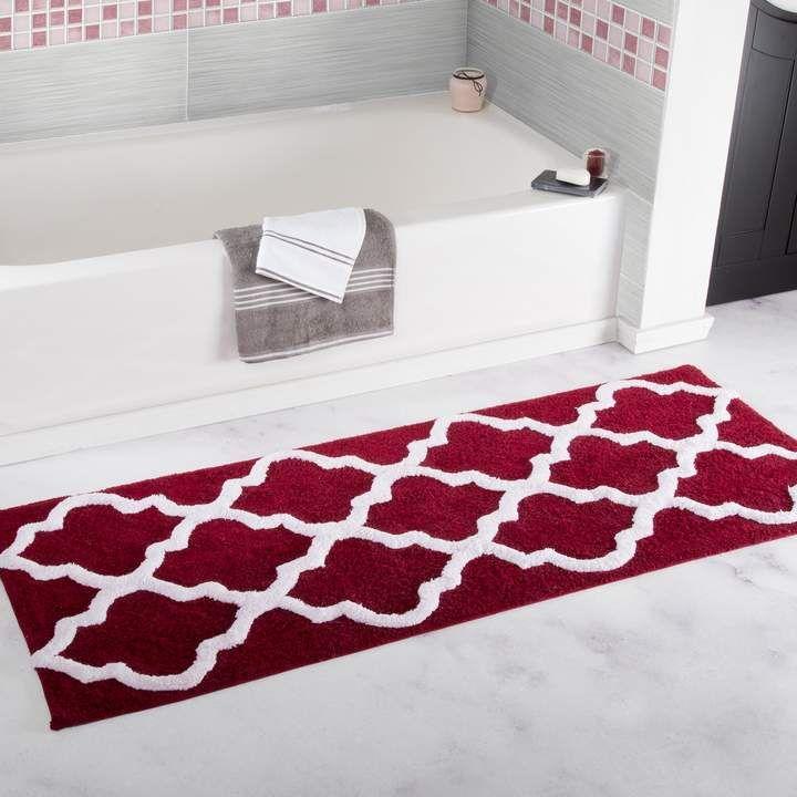 Portsmouth Home Trellis Bath Mat Bath Rug Bathroom Mats Large Bath Rugs