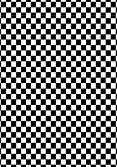 Printable Checkered Flag Paper Racing Car Printable