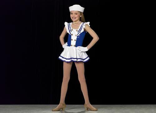 skate dance pageant costume tap ballet dress a424 character sailor