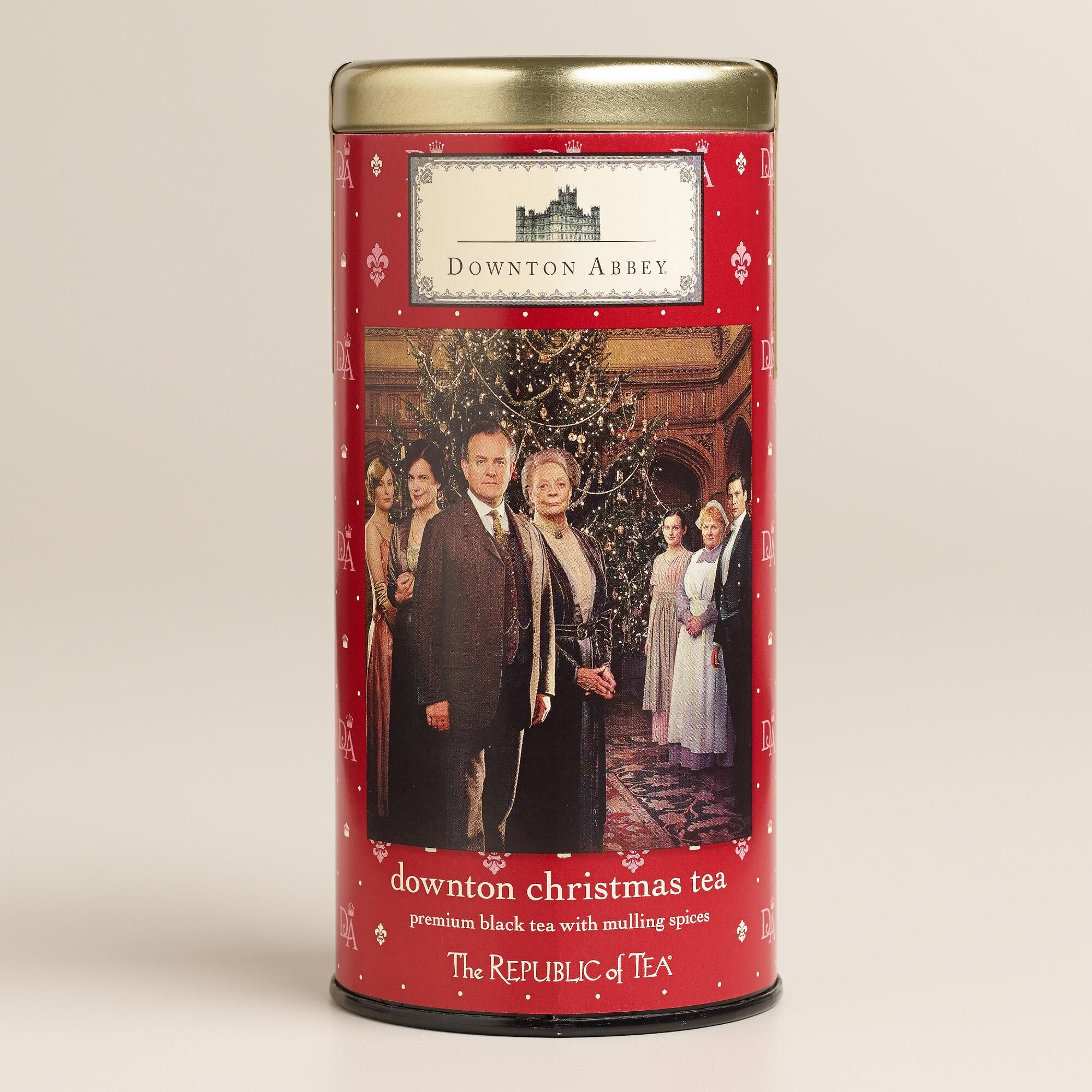 Celebrate the holidays the English way with our Republic of Tea Downton Abbey Christmas Tea. Its spicy aromas and soothing flavors offer a relaxing counterpoint to a season of celebration.