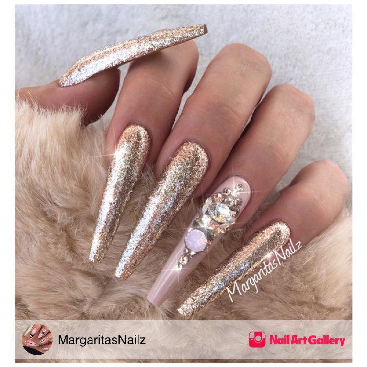 Rose Gold by MargaritasNailz via Nail Art Gallery # ...