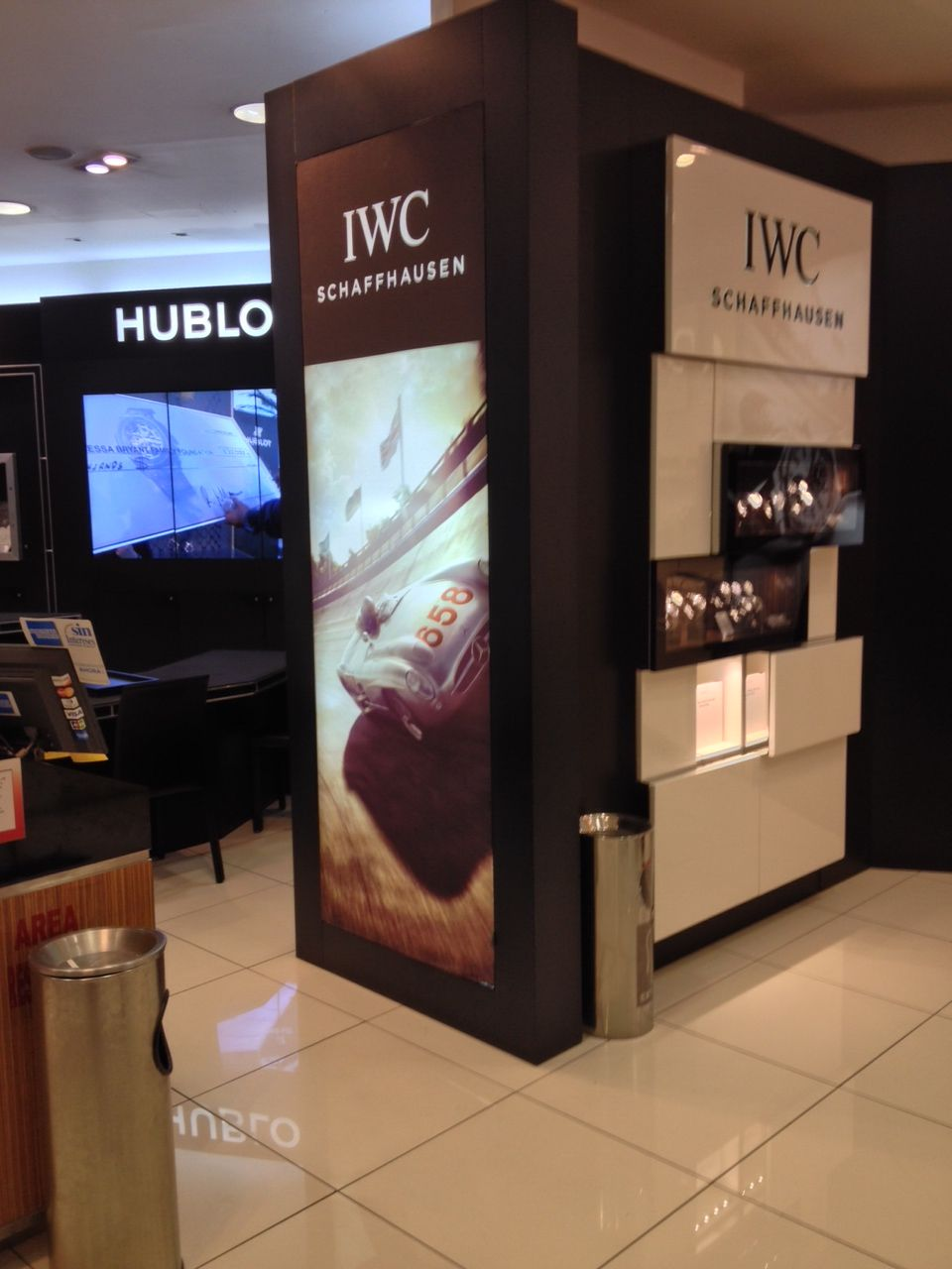 IWC uses Matrix Frame for their retail landscape in their Mexico ...