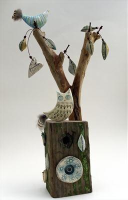 Owl and Little Bird - Shirley Vauvelle