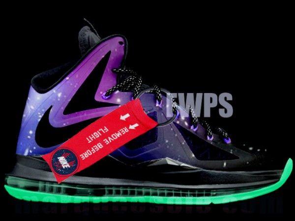 Nike Lebron X Galaxy Mock Up Style Engine Nike Sneakers Nike Nike Trainers