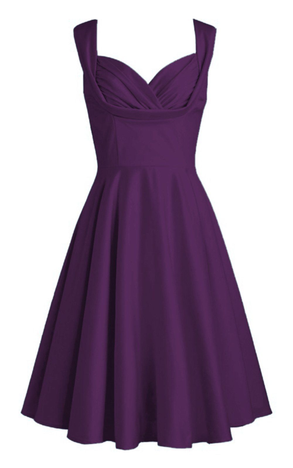Maillsa Sweetheart Neckline Satin Short Bridesmaids Dress, Party ...