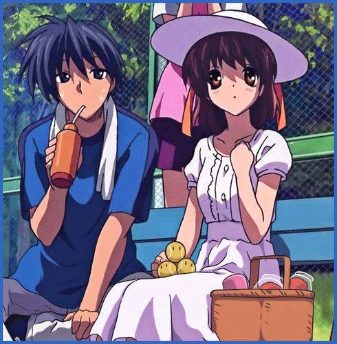 Nagisa And Tomoya I Love How The Tennis Balls Look Like Dangos 3