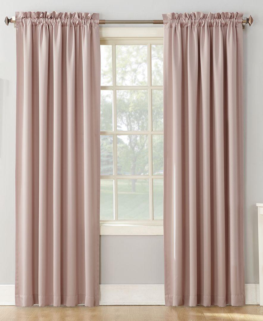 Sun Zero Grant Room Darkening Pole Top 54 X 63 Curtain Panel