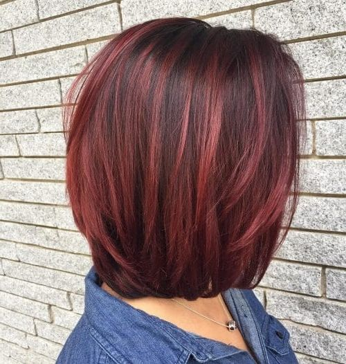Pin By Jennifer Froehlich Beck On Hair Red Highlights In Brown Hair Brown Hair With Highlights Red Hair With Highlights