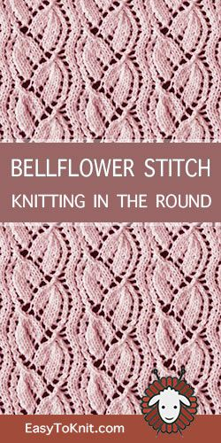 Lace Knitting in the round | Lace knitting stitches, Loom ...