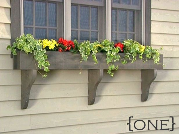 Wonderful Ten DIY Window Box Planter Ideas With Free Building Plans   Tuesday {ten