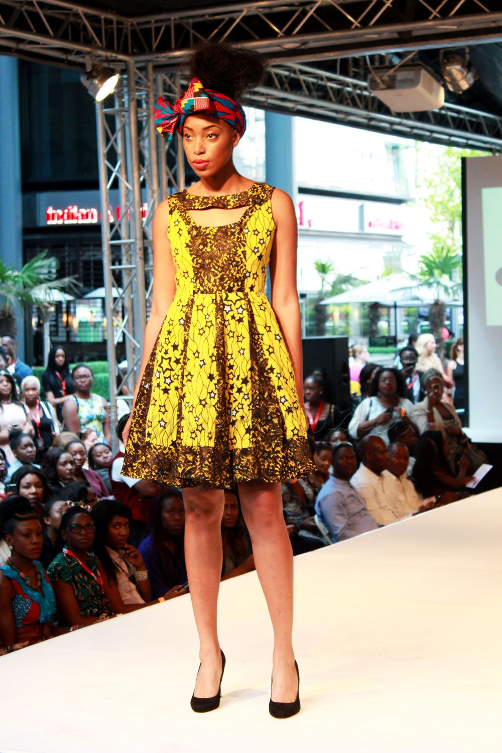 Starstruck Ankara Kitenge Skater Dress Latest African Fashion African Prints African Fashion