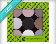 @redapplelipstic City Depth Palette blends mattes with velvety shimmers to create a neutral palette that's far from bland. This palette utilizes grey undertones to help you create stunning professional looks or sultry smokey eyes.
