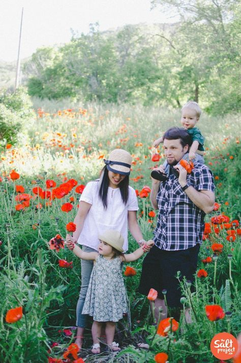Poppies and Fireflies in Utah? Oh my! | The Salt Project | Things to do in Utah with kids