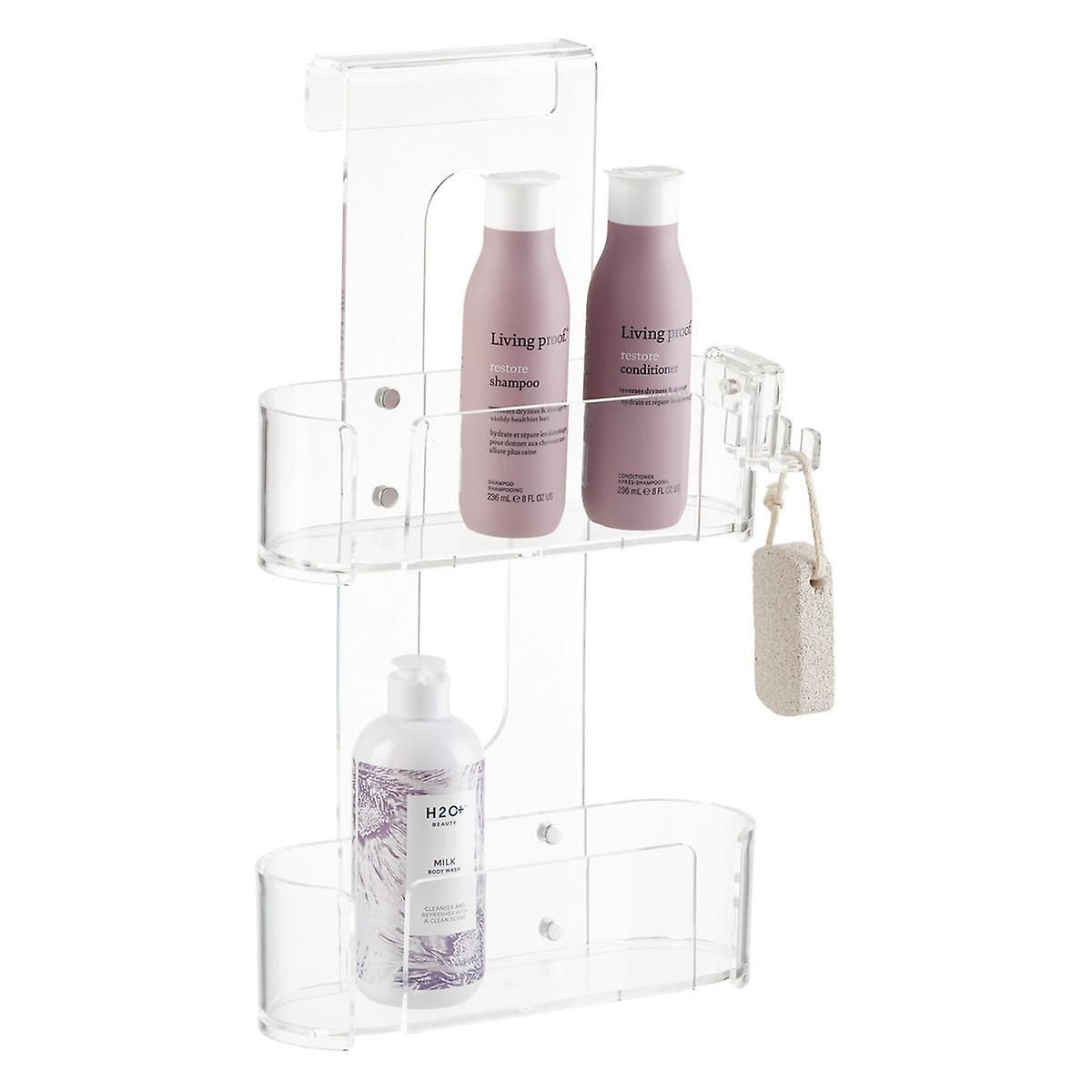 PURCHASED - 2-Tier Acrylic Shower Caddy | The Container Store ...